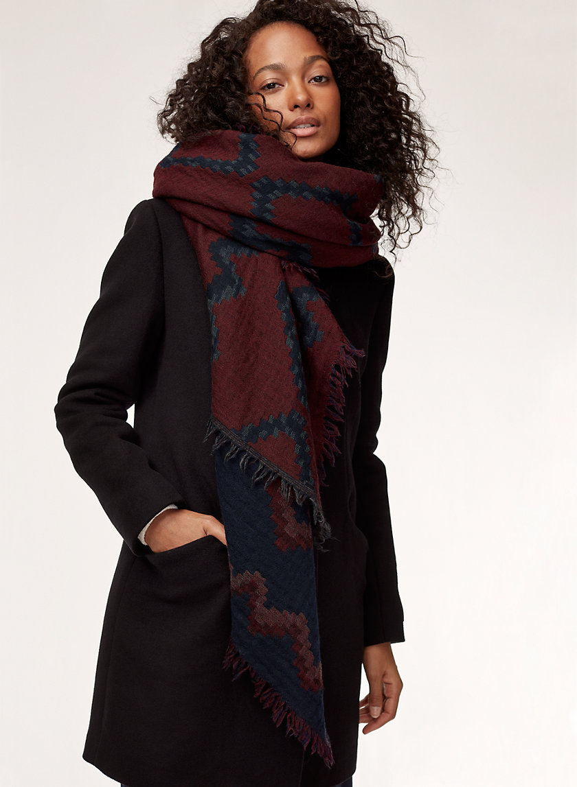Diamond Mosaic Blanket Scarf, Wilfred